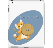 +3 shirt of dungeon delving iPad Case/Skin