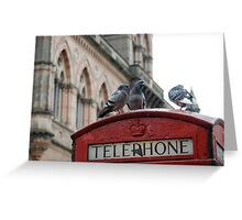 Vintage Telephone Greeting Card
