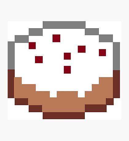 Minecraft Cake Photographic Print