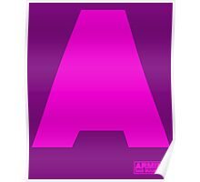 Amin Van Buuren logo A Pink - shirt - state of trance Poster