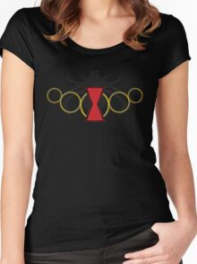 Bitten By a Widow Women's Fitted Scoop T-Shirt
