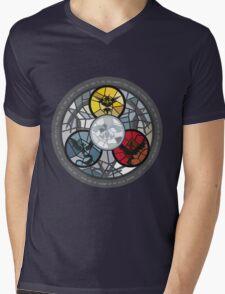 (The legendary Birds) Pokemon Parody Design Mens V-Neck T-Shirt