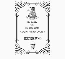 Dr Who: The Daleks V's The Time Lords Unisex T-Shirt