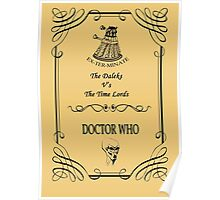 Dr Who: The Daleks V's The Time Lords Poster