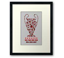 AC Milan - Champions Legaue Winners Framed Print