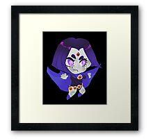Teen Titans    Raven Framed Print