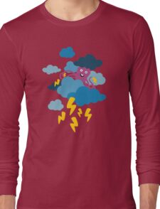 Who Makes the Thunder? - Night  Long Sleeve T-Shirt