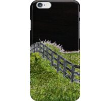 Neon Fence iPhone Case/Skin