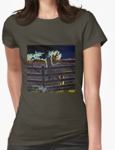 Neon Pony II Womens Fitted T-Shirt