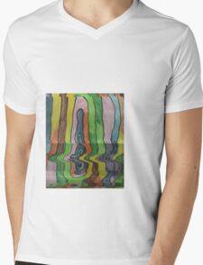 melting logic Mens V-Neck T-Shirt