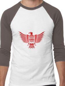pokemon angry Men's Baseball ¾ T-Shirt