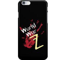 World War Z. iPhone Case/Skin