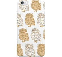 Silky Chickens  iPhone Case/Skin