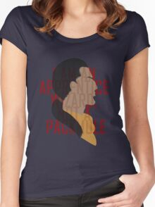 Marcurio is most certainly a pack mule Women's Fitted Scoop T-Shirt