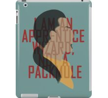 Marcurio is most certainly a pack mule iPad Case/Skin