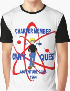 Jonny Quest Adventure Club 1964 Graphic T-Shirt
