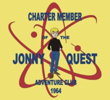 Jonny Quest Adventure Club 1964 One Piece - Short Sleeve