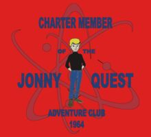 Jonny Quest Adventure Club 1964 Kids Tee