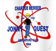 Jonny Quest Adventure Club 1964 Poster