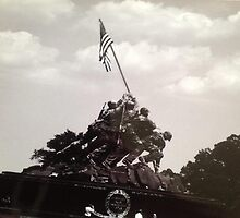 Iwo Jima Memorial by Kerrik