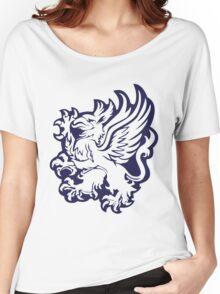 Grey Warden Pattern Women's Relaxed Fit T-Shirt