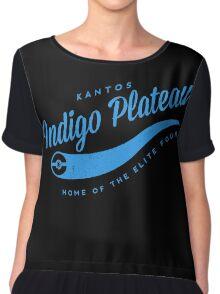 Indigo Plateau (blue) Chiffon Top