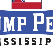 TRUMP PENCE MISSISSIPPI DONALD TRUMP MIKE PENCE PRESIDENT 2016 Sticker