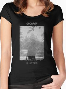 Grouper Ruins  Women's Fitted Scoop T-Shirt