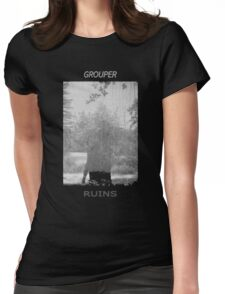 Grouper Ruins  Womens Fitted T-Shirt