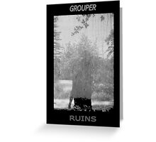 Grouper Ruins  Greeting Card