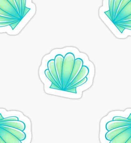 Green Shells Sticker