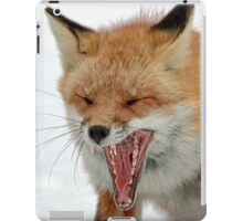 Mighty big yawn iPad Case/Skin