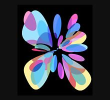 Colorful abstract flower Unisex T-Shirt