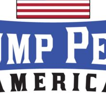 TRUMP PENCE DONALD TRUMP MIKE PENCE PRESIDENT MAKE AMERICA GREAT AGAIN 2016 Sticker