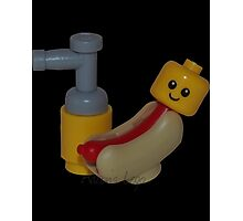 The Cute Baby Hotdog! Photographic Print