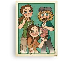 The Cookie Crew Canvas Print
