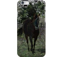 Neon Horse iPhone Case/Skin