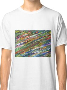 Organised Chaos abstract  Classic T-Shirt