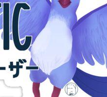 Pokemon GO- Team Blue / Mystic  Sticker