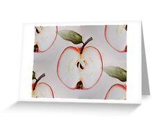 Lots of Apple Halves Greeting Card