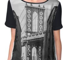 Williamsburg bridge Chiffon Top