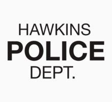HAWKINS POLICE DEPT. Kids Tee