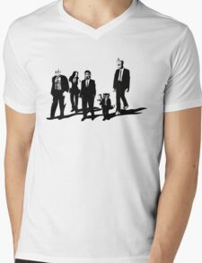 Reservoir A-Holes Mens V-Neck T-Shirt