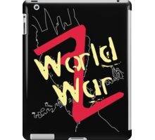 World War Z Alternative iPad Case/Skin