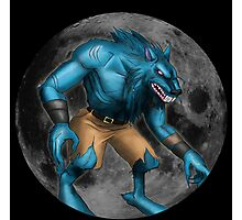 Sabrewulf Killer instinct character illustration Photographic Print