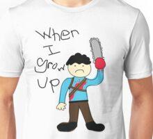 When I Grow Up Ash Unisex T-Shirt
