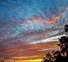 Warrandyte Sunset III by Adam Le Good