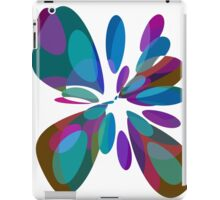 Colorful abstract flower iPad Case/Skin