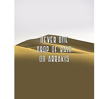 Arrakis Photographic Print