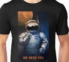 We Need You - NASA Recruitment Poster Unisex T-Shirt